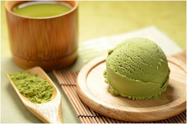 мороженое с маття