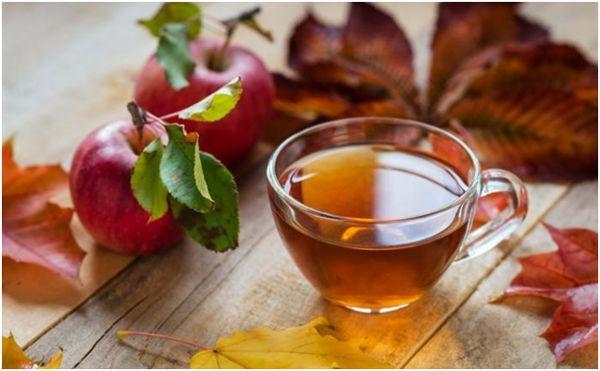 осенний яблочный чай