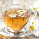ромашка в чае