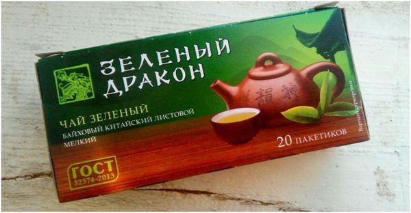 чай зеленый дракон