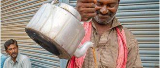 индийцы и масала чай