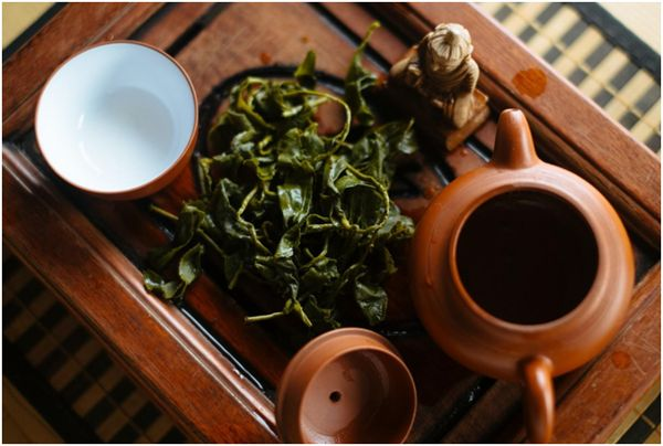 листья габа чая