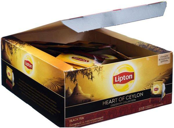липтон 100 пакетиков