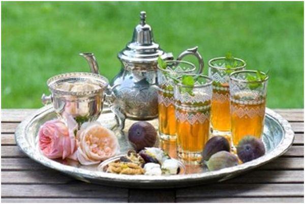марокканский чай и инжир