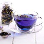 чай из цветов клитории