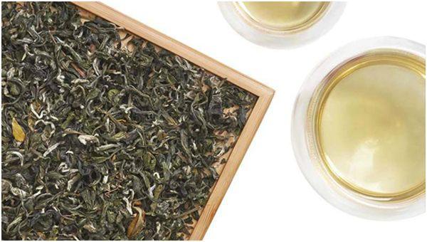 чай зеленый дракон жасминовый