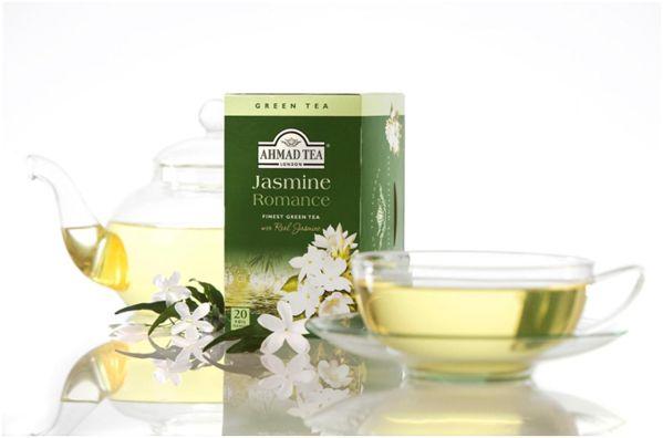 зеленый чай с жасмином ахмад