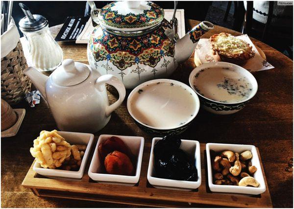 татарский чай с молоком