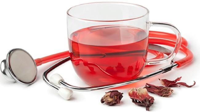 чай каркаде и мединструмент