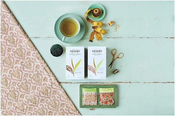 чай ньюби и швейные принадлежности