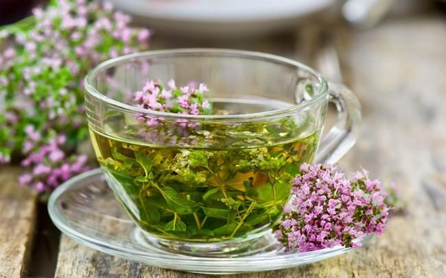 чай с чебрецом
