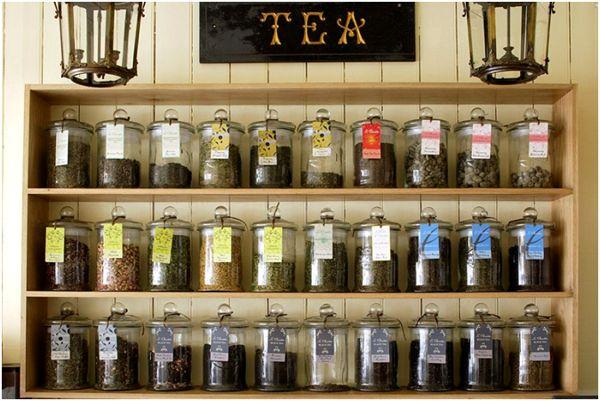 чай в чайной лавке