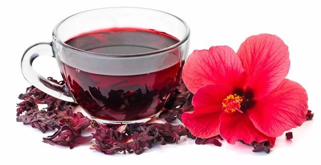 чашка чая каркаде