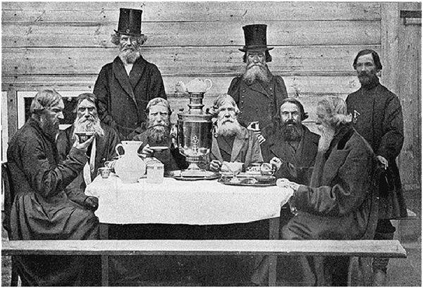 русское чаепитие старое фото