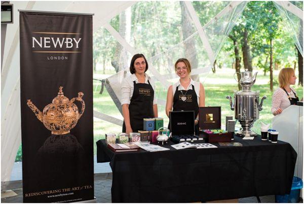 выставка чая ньюби