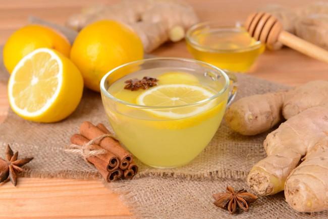 чай с имбирем корицей лимоном и медом