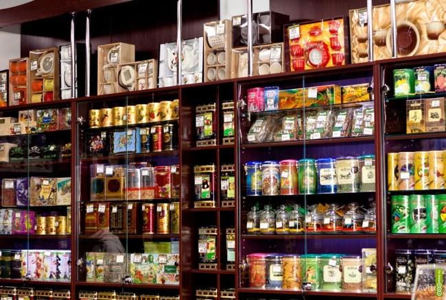 чай в магазине