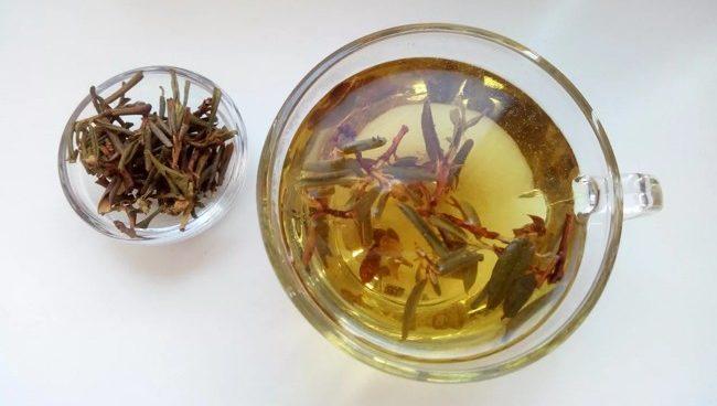 чашка заваненного чая саган дайля