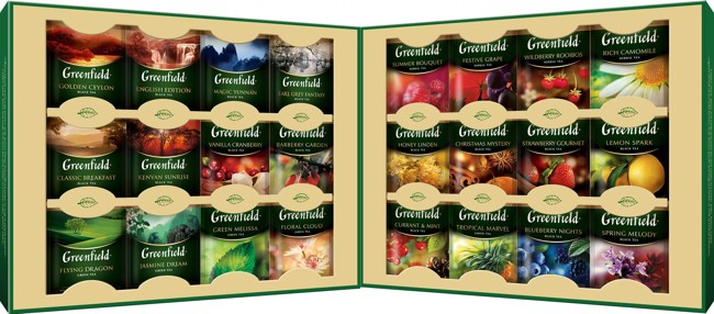 коллекция травяного чая гринфилд