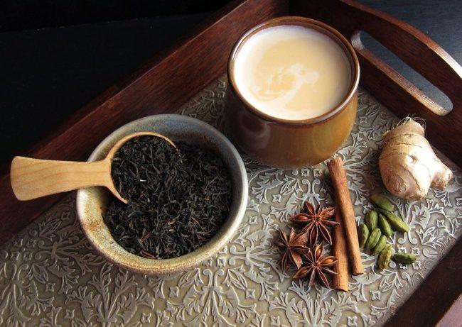 тибетский чай с молоком