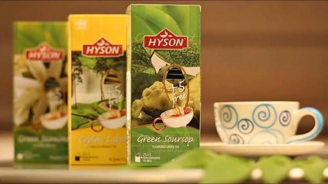 3 упаковки чая хайсон