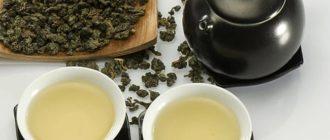 чаепитие с молочным улуном