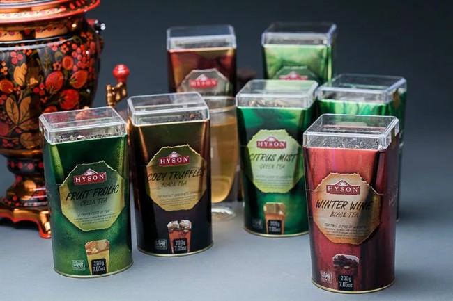 чай хайсон в полужестяных банках