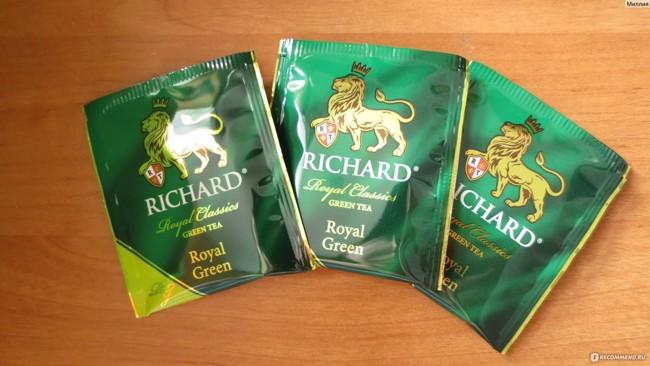 чай ричард в пакетиках