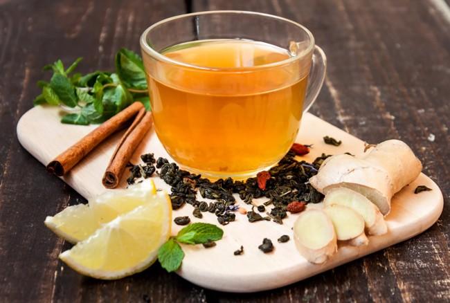 чай с имбирем корицей
