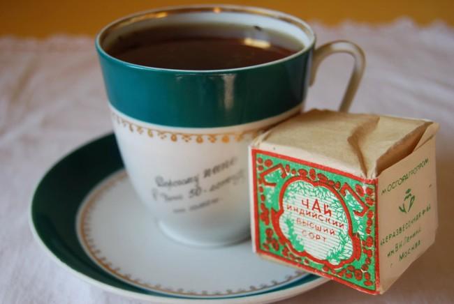 чашка чая из грузии