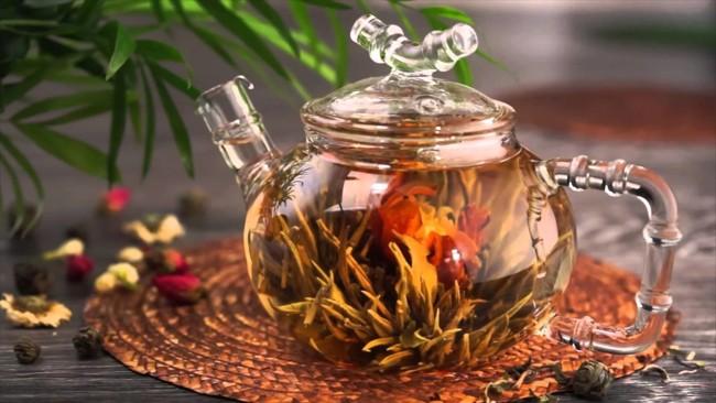 китайский цветочный чай