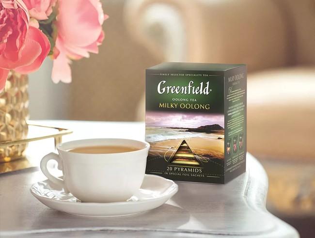 пачка чая гринфилд