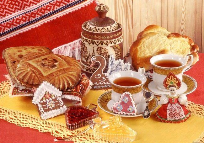 пироги, пряники и варенье