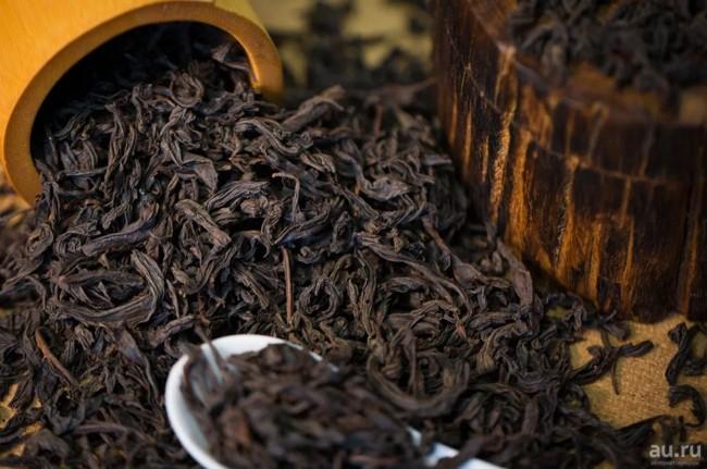 сухие листья цейлонского чая