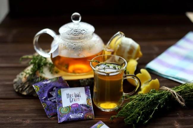 травяной чай в пакетиках