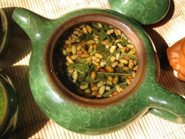 чай с рисом