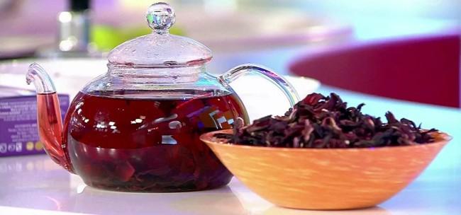 чайник с каркаде