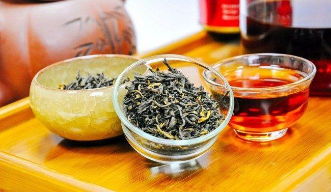 черный китайский чай
