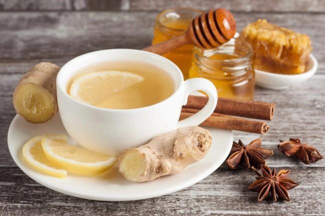 имбирный чай с корицей анисом и медом