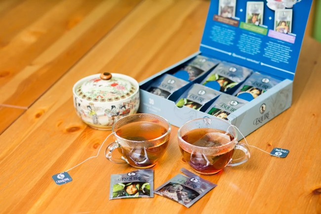 коробка чая в пакетиках