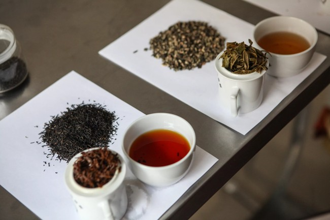 образцы чая
