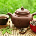 заварник с чашкой китайского чая