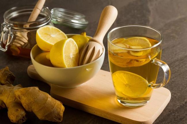 чай с имбирем медом и лимоном